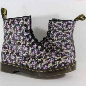 Doc Martens Dr. Victorian Floral 1460 Boots N209